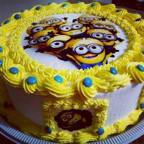 decorar bolo redondo bolo dos minions 55 inspira 231 245 es lindas