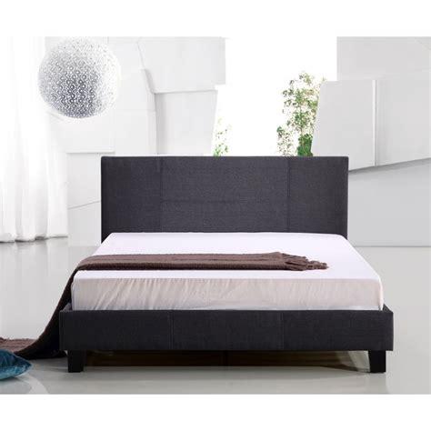 grey queen bed frame palermo queen size linen headboard bed frame grey buy
