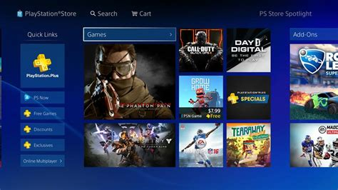 Play Store Ps4 Ps Store Receives Makeover On Ps4 Receives Positive