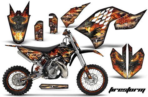 Ktm 65 Decals Ktm Motocross Graphic Decal Sticker Kit Ktm Mx Stickers