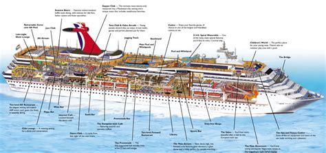Star Vista Floor Plan by Carnival Cruise Line Ships Comparison Cruisemapper