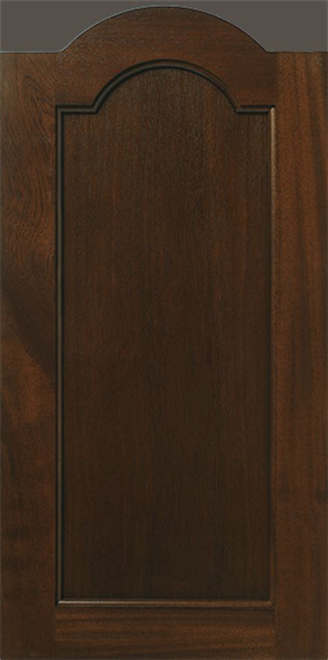 Arched Cabinet Doors Arched Flat Panel Mahogany Cabinet Door Walzcraft
