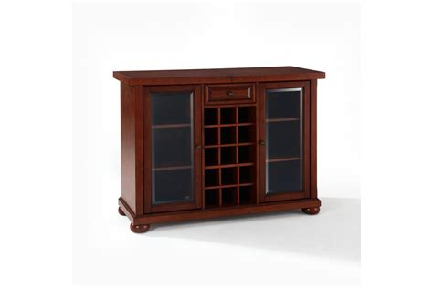 sliding top bar cabinet alexandria sliding top bar cabinet in vintage mahogany