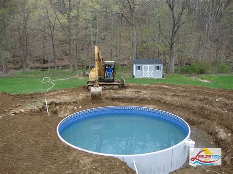 above ground pool backyard ideas pool astonishing picture of round above ground deck pool