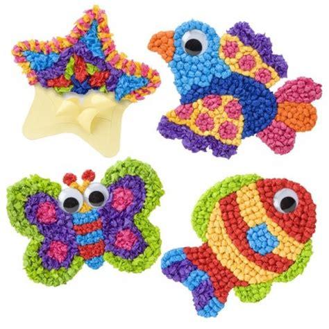Paper Crumpling Craft - cadeau activit 233 s arts plastiques enfant 3 ans 4 ans 5