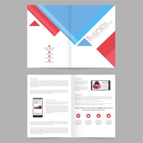 poster catalog template creative promotion vector free