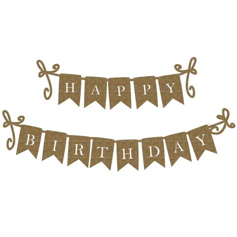 How To Make A Happy Birthday Banner Of Paper - happy birthday banner