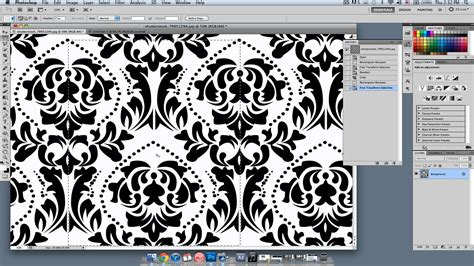 pattern en photoshop how to create a wallpaper pattern photoshop lessons