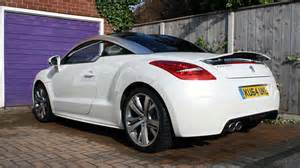 White Peugeot Rcz 2015 Peugeot Rcz Diesel Real World Road Test Carwow