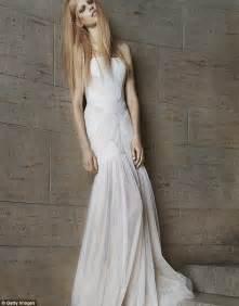 Drapery Fabrics Online Vera Wang Debuts Edgy New Bridal Collection Daily Mail
