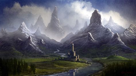 doodle a of light in the kingdom of darkness twisted mountain valley by balaskas on deviantart