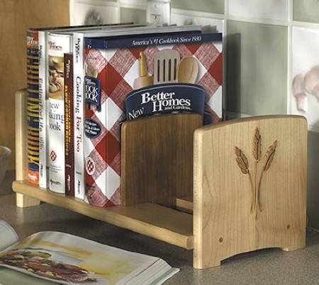 31 md 00233 chefs cookbook bookshelf woodworking plan