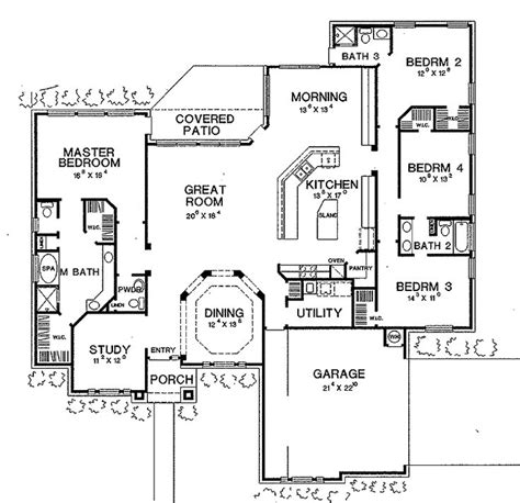 open floor plan house plans best 25 2 bedroom house plans ideas that you will like on