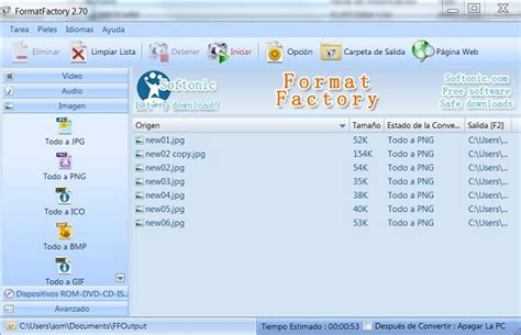 format factory ultima versione italiano format factory descarga este conversor de v 237 deo y audio