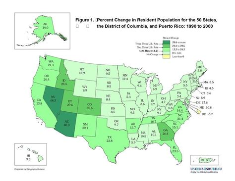 us map states size by population file united states population change by state map 1990