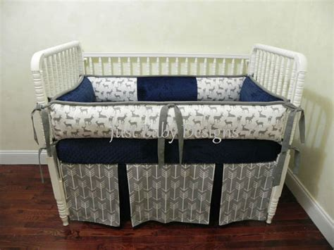 Navy Boy Crib Bedding by Custom Baby Bedding Set Kees Navy Boy Baby Babybedding