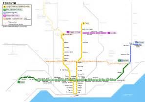 Toronto Metro Map by Toronto Metro Map Travel Map Vacations