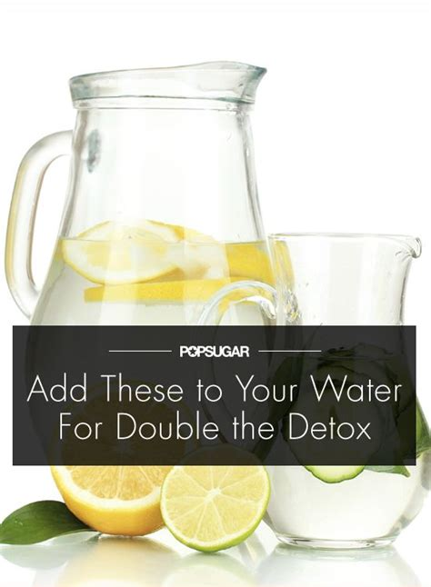 Ingredients Needed For Detox Water by 4 Detox Ingredients You Need To Add To Your H2o Detox