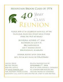 Class Reunion Template by Class Reunion Invitation Templates Free Futureclim Info