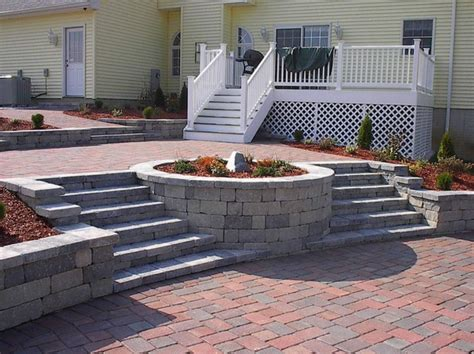 Backyard Patio Fire Pit Ideas Interior Design Paver Patio Designs With Pit