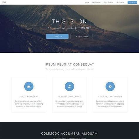 html5 website template free site templates page 2 of 44 templated
