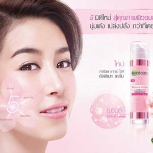 Garnier Pinkish Radiance Ultimate Serum garnier white pinkish radiance ultimate serum 50ml thailand best selling products
