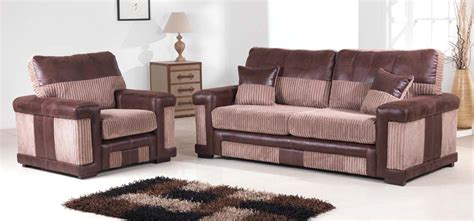 brown fabric sofa set new york 2 2 seater brown fabric sofa set