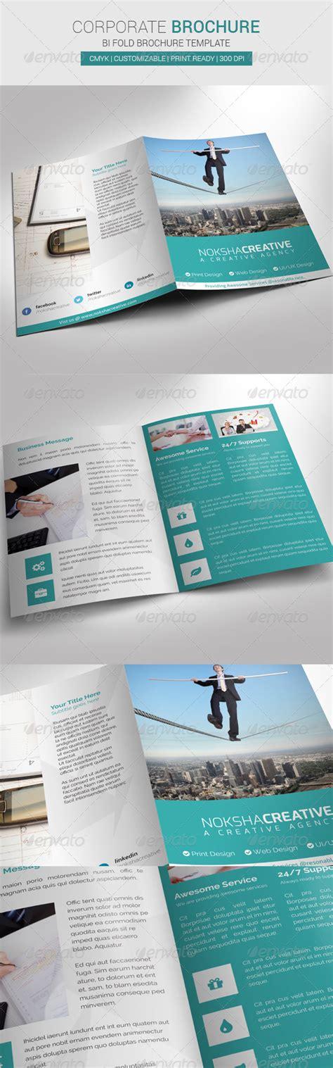 Corporate Bi Fold Brochure Template by Corporate Bi Fold Brochure Graphicriver