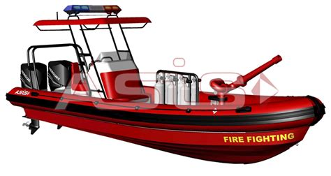 rigid inflatable boats - Reel Fire Boat