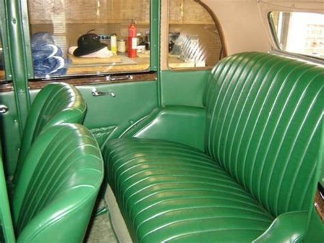 austin car upholstery 1936 austin 10 sherborne saloon pauls custom interiors