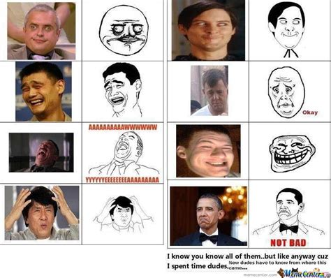 Internet Meme Face - image gallery internet meme faces