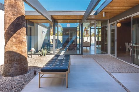 eichler style home developers revive quot desert eichler quot for palm springs