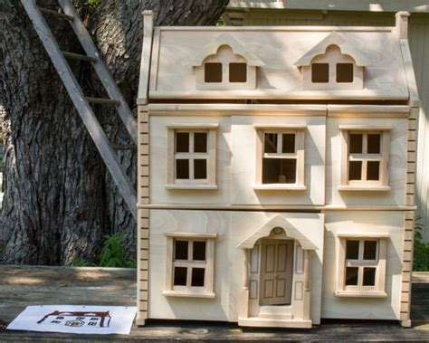 design a doll house how to paint a dollhouse with a kid