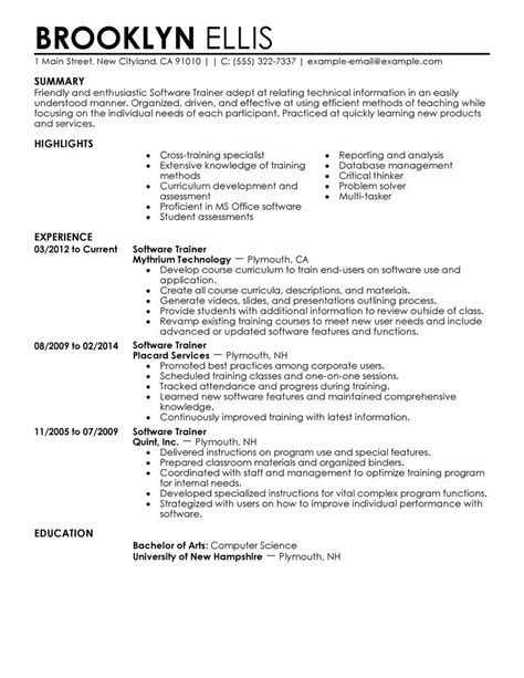 perfect resume exle best template collection