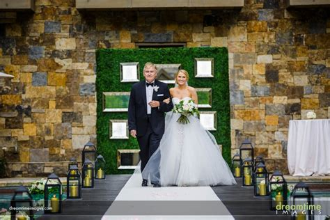 wedding aisle pool epic wedding ceremony with aisle pool at vail four