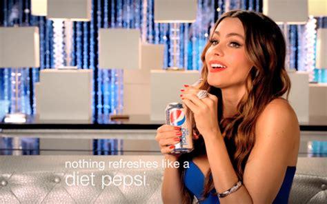 pepsi commercial larry actress bader media group sofia vergara stars in new diet pepsi