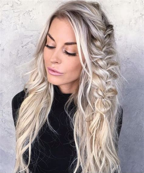 french hair braid salt pepper 50 spectacular blonde hair ideas my new hairstyles