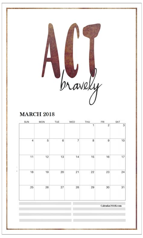 desk calendar design 2018 15 unique 2018 march month calendar designs calendar 2018