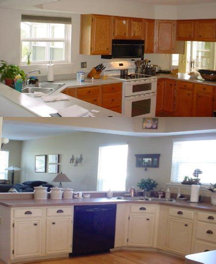 Kitchen Cupboard Paint Before And After - kitchen trends painting kitchen cabinets before and after