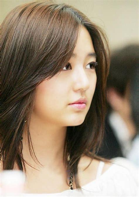 gaya rambut tanggung wanita korea model rambut