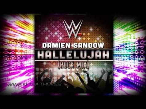 wwe themes mix damien sandow 6th new wwe theme song hallelujah