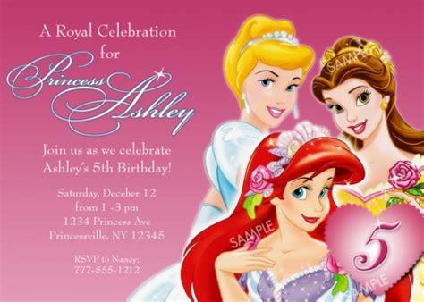 disney princess 1st birthday invitations disney princess birthday invitations ideas bagvania free printable invitation template