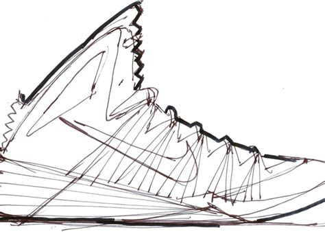 nba shoes coloring pages drawn jordania kd shoe pencil and in color drawn
