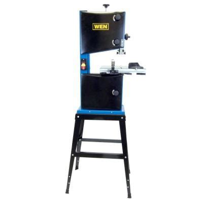 wen 10 in band saw with stand 3912 the home depot