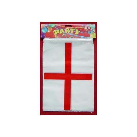 bunting rubber st st george flag plastic bunting