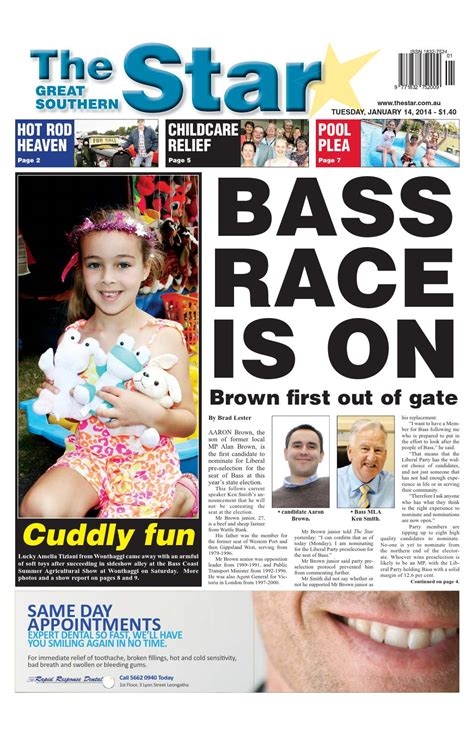issuu the great southern star april 1 2014 by the the great southern star january 14 2014 by the great