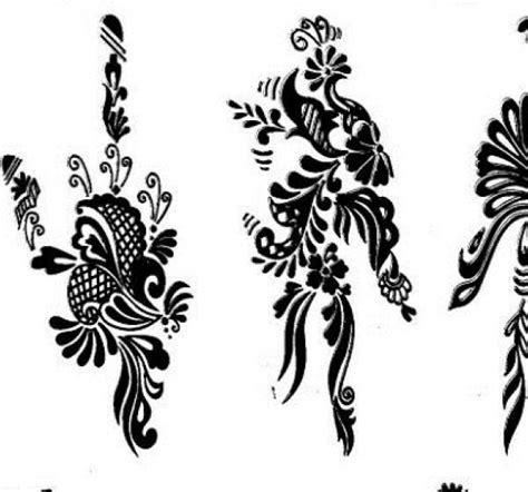 tatuajes de henna 1a parte en plantillas y dibujos