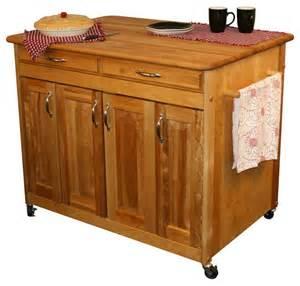 catskill craftsmen butcher block work center plus catskill craftsmen 1476 french country work center kitchen