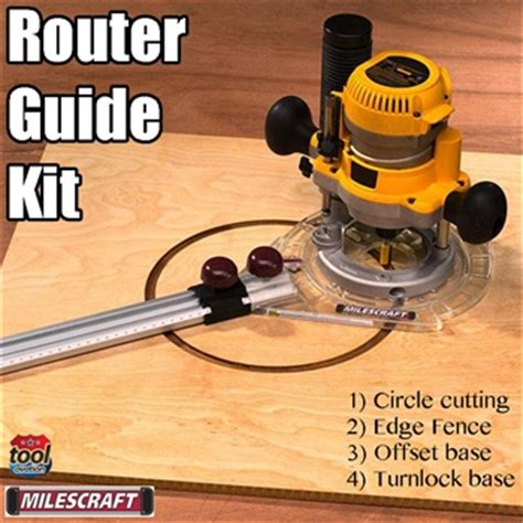 router template guide kit milescraft router guide kit