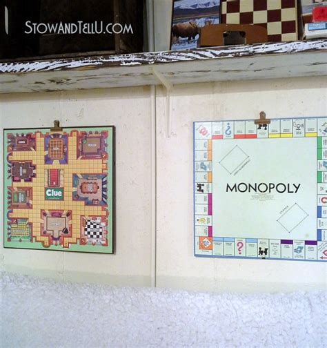 game room wall decor ideas repurposed board games to art for a game room hometalk